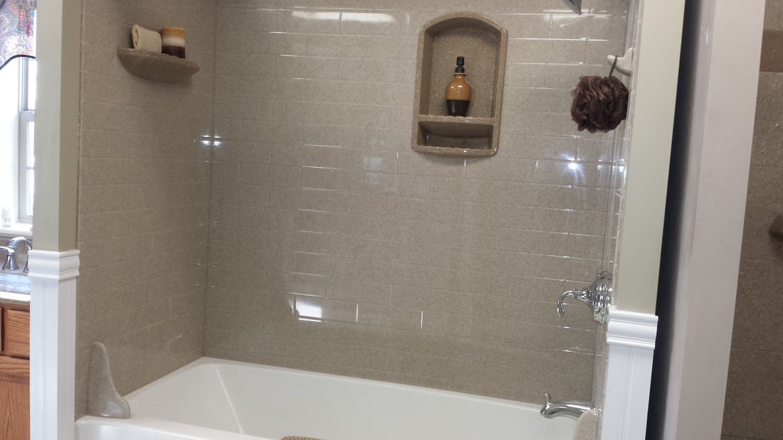 Subway Tile Finish Wall panel